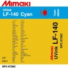 SPC-0728C Mimaki LF-140 UV Flex Ink Cyan 600ml