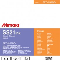 SS21 Ink Pack 2,000ml Orange For CJV150-75 / CJV300-130 / CJV300-160